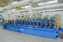 Medium-size to heavy profile profile roll forming machine