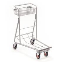 Shopping cart / platform / wire mesh platform / baggage