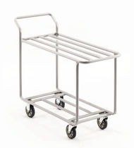 Service cart / multipurpose / steel / wire mesh