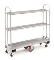 Mobile shelving / light-duty