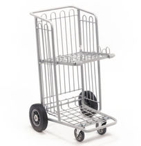 Shelf cart / multipurpose / wire mesh