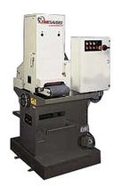 Broadband grinding machine / satin / numerical control / for metal
