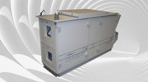 Horizontal air handling unit / for schools / heat-recovery