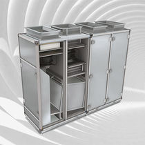 Vertical air handling unit / heat-recovery
