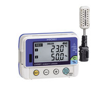 Temperature data-logger / relative humidity / programmable / RS-232C