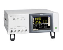 Electrical network analyzer / impedance / benchtop