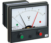 Voltage meter / analog / integrated