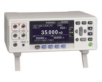Microhmmeter / digital / bench-top / low-resistance