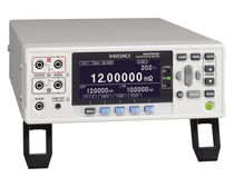 Microhmmeter / digital / bench-top / with integrated temperature compensation