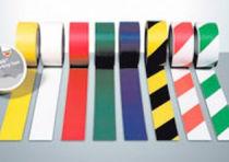 Marking adhesive tape / PVC / for doors