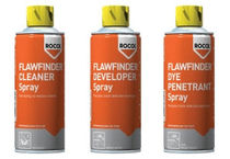 Crack detection spray / multi-use / fast-acting