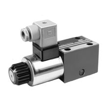 Poppet hydraulic directional control valve / solenoid-operated