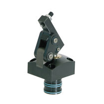 Double-acting hydraulic hinge clamp / compact
