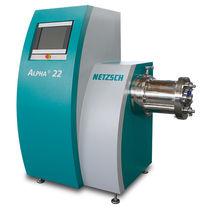 Wet grinding mill / rotor / horizontal