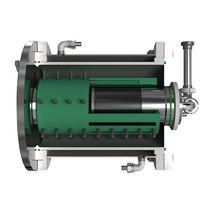 Circulation grinding mill / horizontal