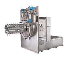 Ball agitator mill / horizontal / stainless steel / for the pharmaceutical industry