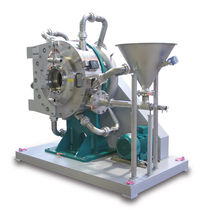 Spiral jet mill / air classifier / dry milling / compact
