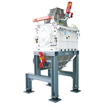 Knife mill / horizontal / for plastics / for cellulose