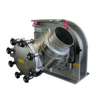 In-line air classifier