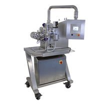 Wet grinding mill / horizontal / for powders / micronization