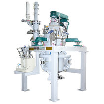 Fluidized bed jet mill / horizontal / air classifier / dry milling