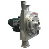 Centrifugal classifier / air / for solids / laboratory