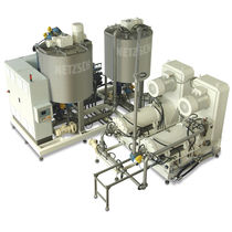 Compound mass production line / for confectionery products