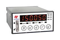 LED display weight indicator-transmitter / digital / DIN rail