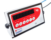 LED display weight indicator / digital / rugged / stainless steel