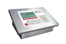 Digital weight indicator-controller / stainless steel / panel-mount