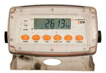 LCD display weight indicator / digital / for hazardous environments / for wet environments