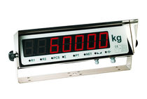 Remote weight indicator / LED display / IP65 / stainless steel