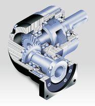 Bevel gear reducer / orthogonal / motor