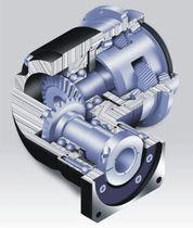 Bevel gear reducer / helical / orthogonal / motor