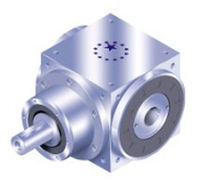 Bevel gear reducer / helical / hollow-shaft / low-backlash