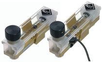 Variable-area flow meter / for gas / in metering tube
