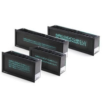 Alphanumeric displays / fluorescent / 5-digit / compact