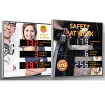 Safety displays / LED / numeric / 3-line