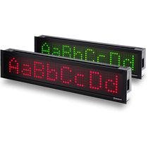 Dot-matrix displays / alphanumeric / numeric / LED