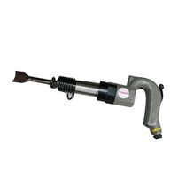 Pneumatic chipping hammer / for construction / horizontal