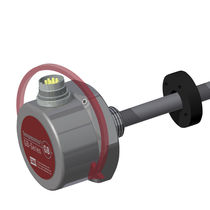 Linear position sensor / contactless / magnetostrictive / rugged
