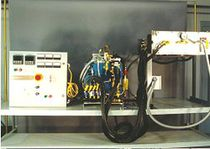Fire resistance testing furnace / chamber / steam / air circulating
