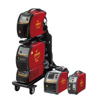 MIG-MAG welding generator / with 2-roll wire feeder / with integrated display / inverter