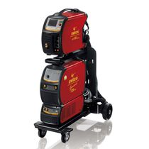 MIG-MAG welding power supply / with 4-roll wire feeder / inverter / with integrated display