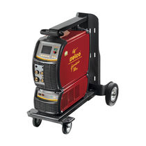 MMA welding generator / MIG-MAG / TIG / with 4-roll wire feeder