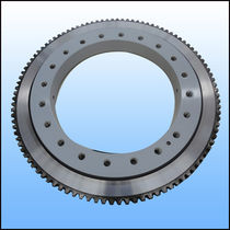External-toothed slewing ring / ball / single-row / for wind turbines
