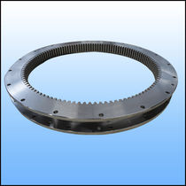 Internal-toothed slewing ring / ball / single-row / for robotics