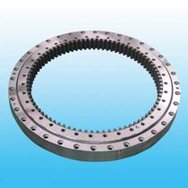 Internal-toothed slewing bearing / ball / double-row