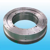 External-toothed slewing ring / ball / double-row / for public works, excavators and cranes