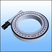 Dustproof slewing drive / single / worm gear / slewing ring